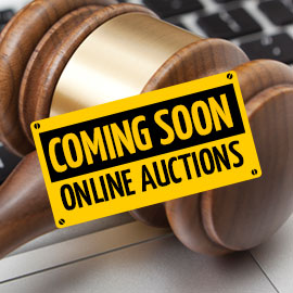 Coming Soon - Online Auctions